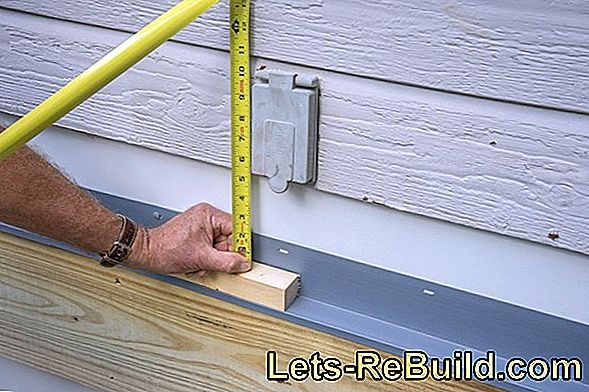 Instructions for attaching roof battens