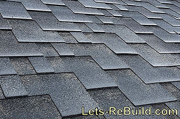 Cover a roof with roofing felt and shingles