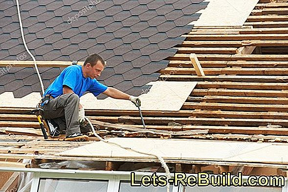 Prices for material and roofing work