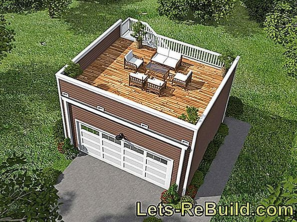 Costs For A Garage Roof » From 1000 Euros One Is There
