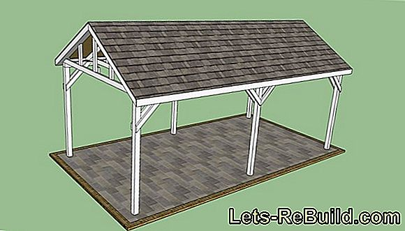 Build garage roof yourself - is that possible?