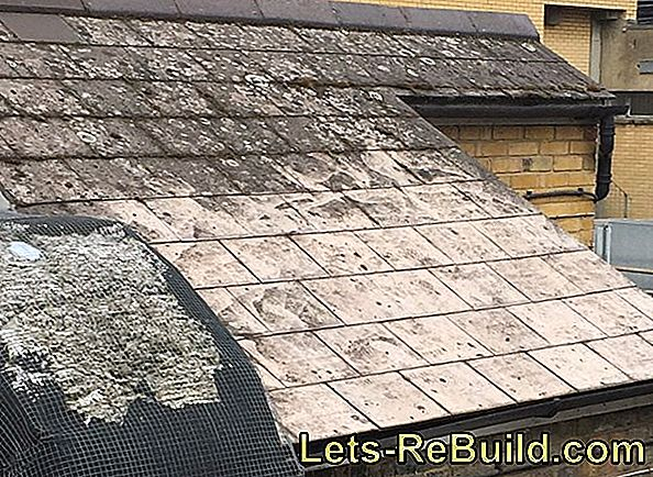 Asbestos roof renovation