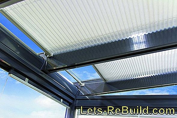 Glass Roof Shading » Effective Protection Against Too Much Sun