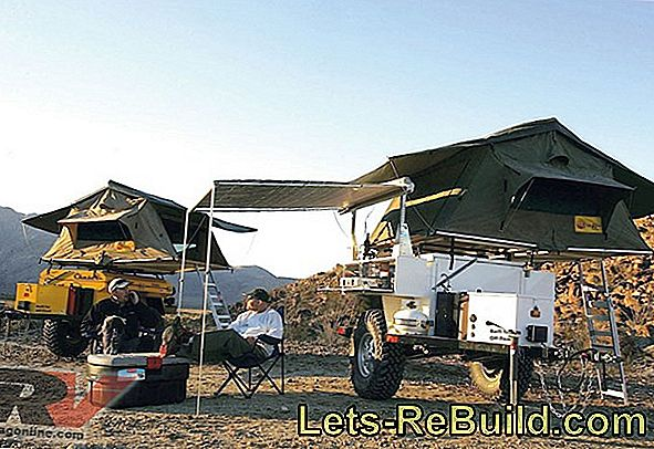 Build a towing roof yourself