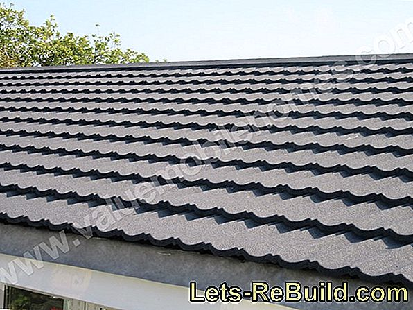 Prices of roof tiles depend on the material