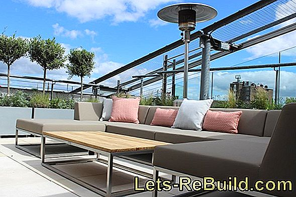 Seal The Roof Terrace Properly - Step By Step Instructions