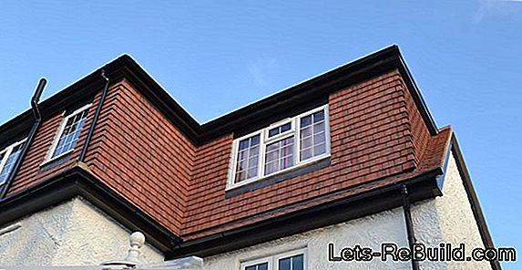 Tiled roof - the most popular roof shape