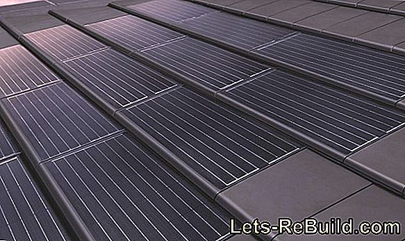 Photovoltaic roof tiles, advantages through integration