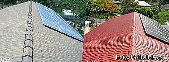 Painting roof tiles - a proven alternative to new roofing