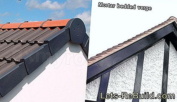 Roof tiles - here the important dimensions