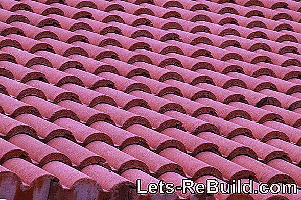 Which materials are used for roof tiles