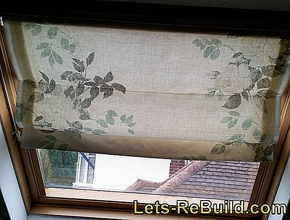 Making The Skylight Roller Blind Yourself » You Should Pay Attention