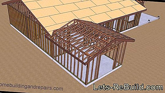 Setting up the roof truss - the step by step guide