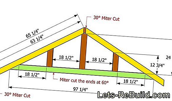 Build a roof truss yourself
