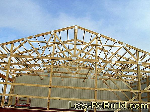 Fix the roof truss - how it works and what is important here