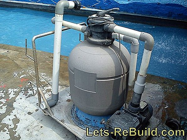 Instructions for the sand filter system