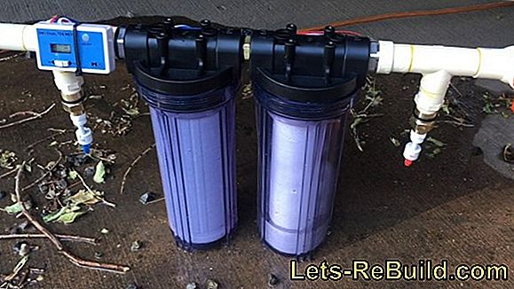 Build a sand filter system yourself