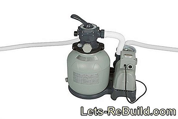 The sand filter pump