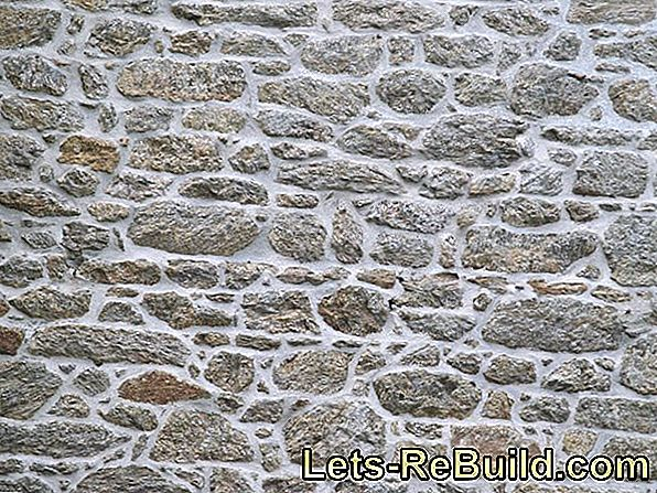 Build a limestone wall