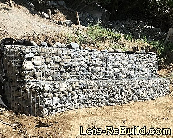Schalsteine ​​Retaining Wall - How It Is Built
