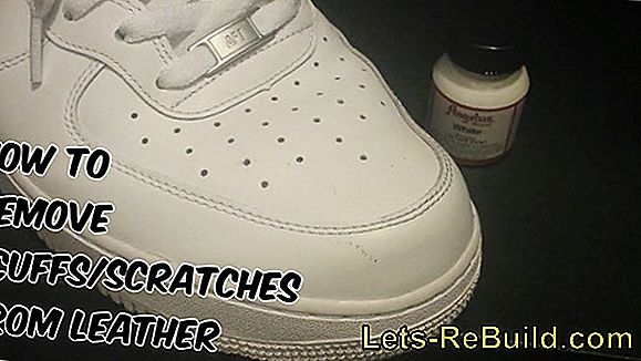 Remove Scratches From Leather Shoes » Instructions In 6 Steps