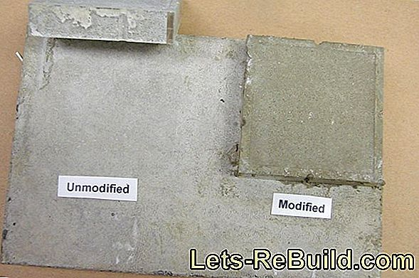Possible applications for screed panels