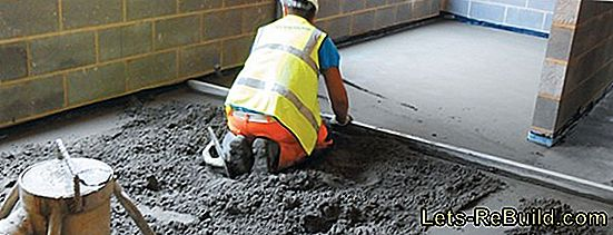 Repair Screed - That'S How It'S Done!