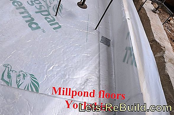 Fill screed for mirror-smooth floors