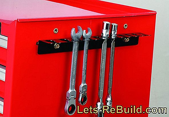 Wrench storage - practical and clear