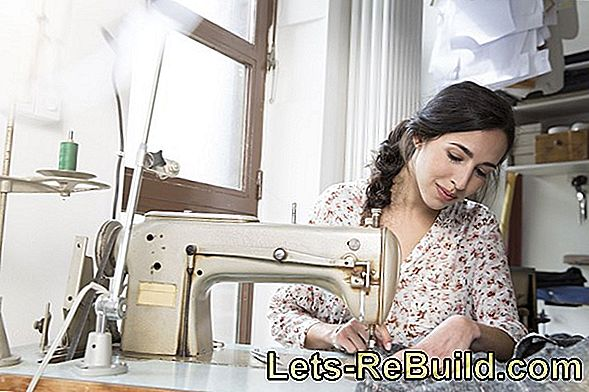 Operating the sewing machine - the basics