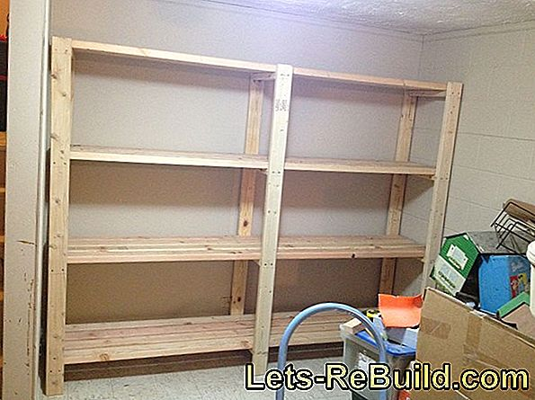 Building A Wall Shelf Yourself » The Best Ideas