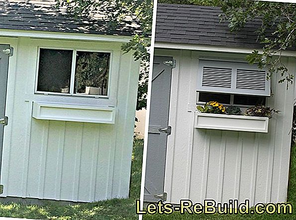 Build shutters with a kit yourself