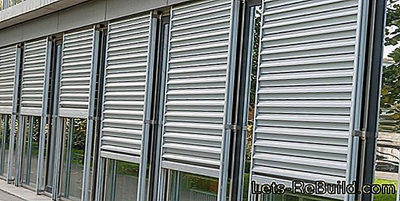 Shutters as protection against burglary
