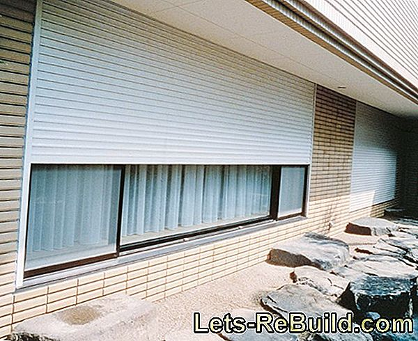 Roller Shutters » Thermal Insulation Effects