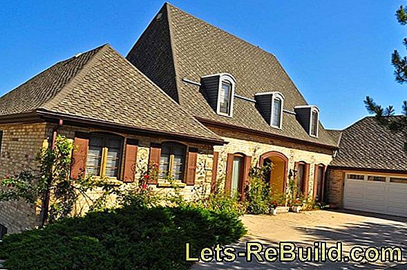 What are the advantages and disadvantages of the pitched roof in single-family homes?
