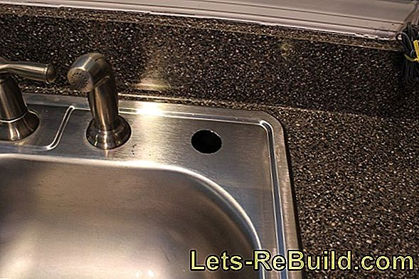 Drill A Hole In The Stainless Steel Sink » Detailed Instructions