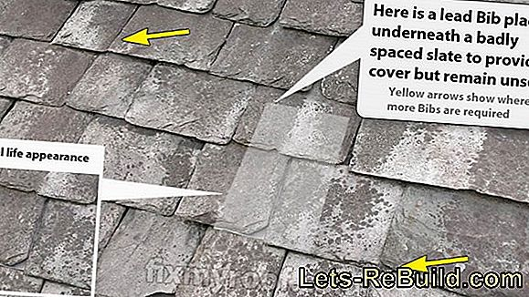Laying slates - made easy