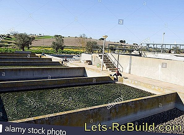 Sedimentation in the small wastewater treatment plant