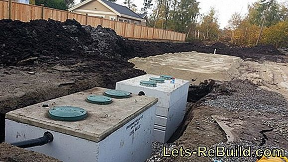 The septic tank - how it is built, how it works and what you have to consider