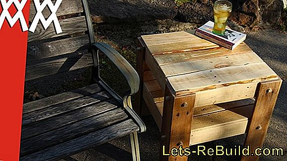 Build a chic couch of pallets yourself