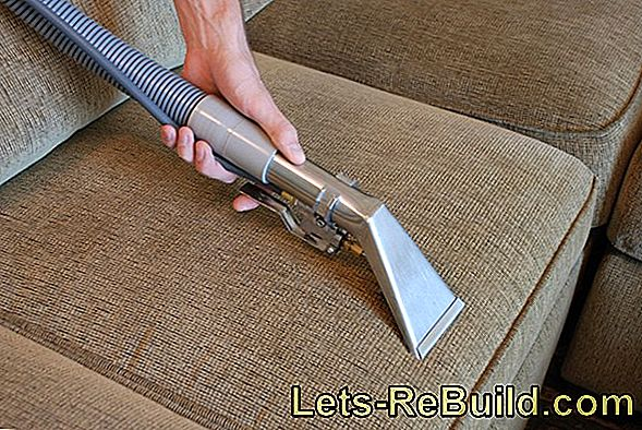 Cleaning The Sofa With Steam Cleaner » How It'S Done