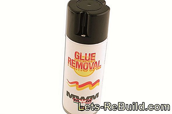 Solvent for glue
