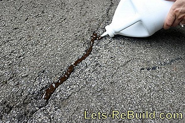 Fill cracks cause-related and prepared