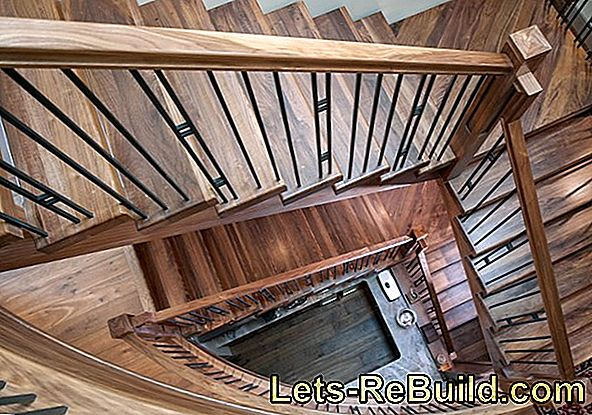 Spiral staircase - ingenious construction