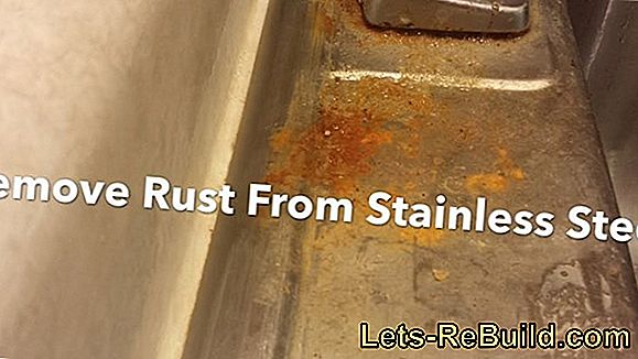 Remove from stainless steel rust