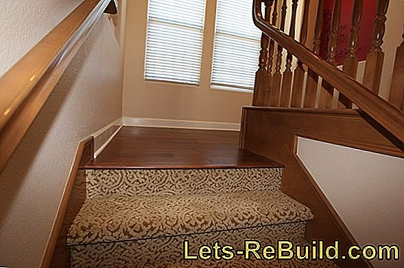 The right flooring for the staircase