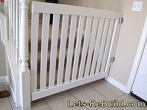 Stair gate for dogs