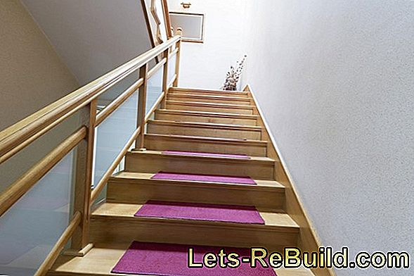 Lay stairs on different types of stairs