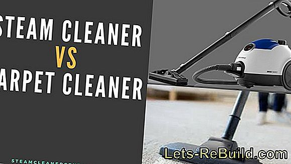Steam cleaner or steam cleaner