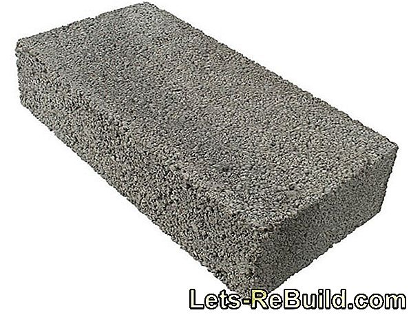 Dimensions of aerated concrete blocks - wide range